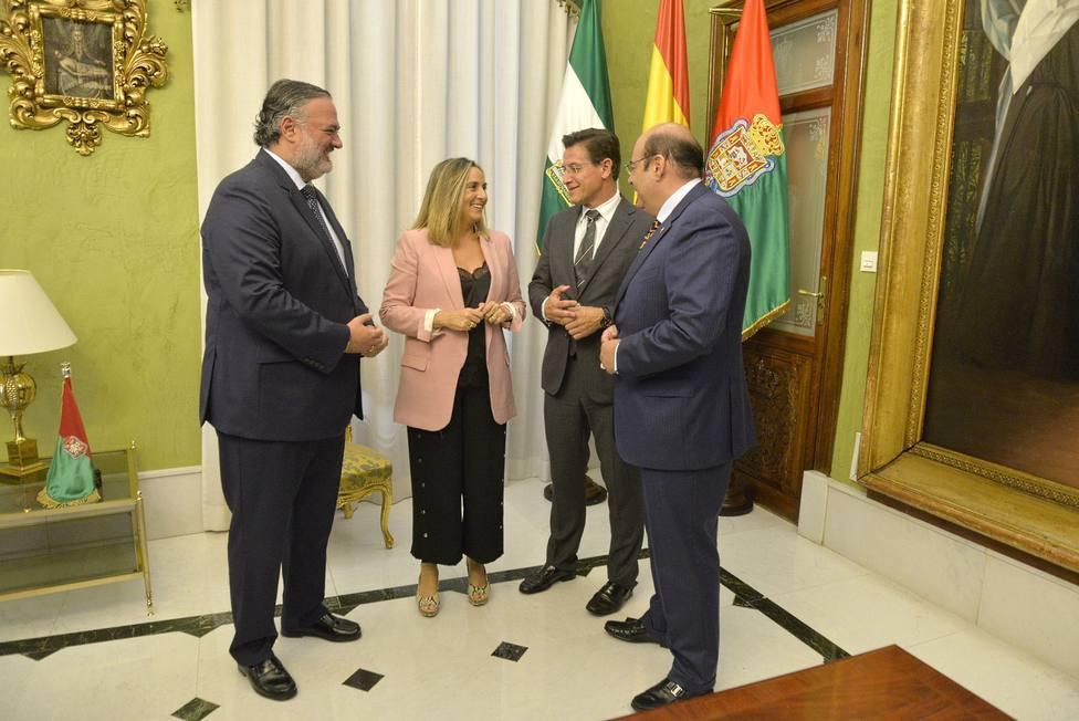 Visita Marifran Carazo al Ayuntamiento
