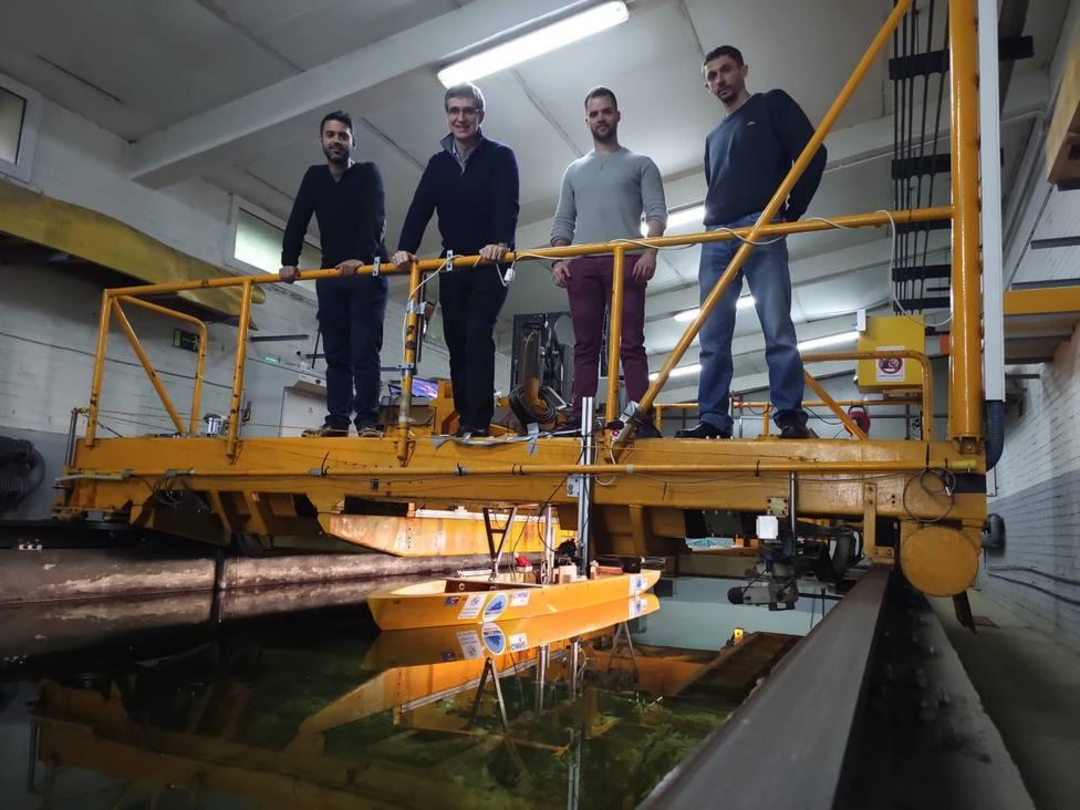 Utilizarán un modelo a escala del Hespérides para reproducir las condiciones de navegación en zonas con hielo