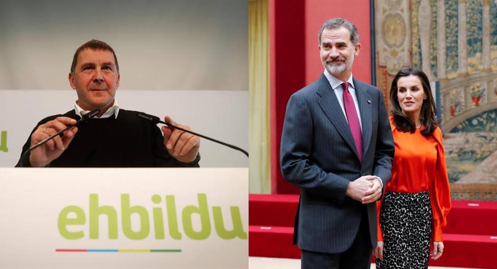 ERC y EH Bildu reclaman abolir las injurias a la Corona