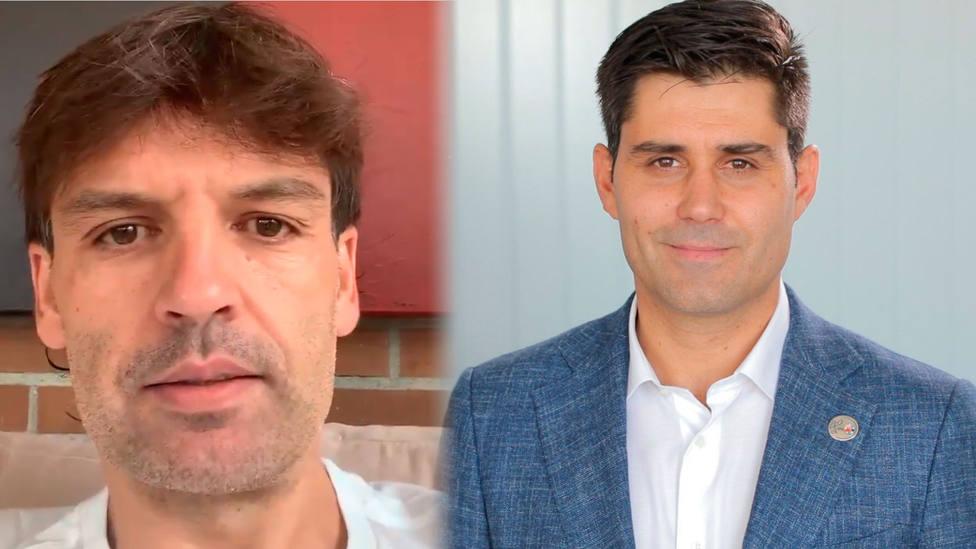Fernando Morientes y David Aganzo