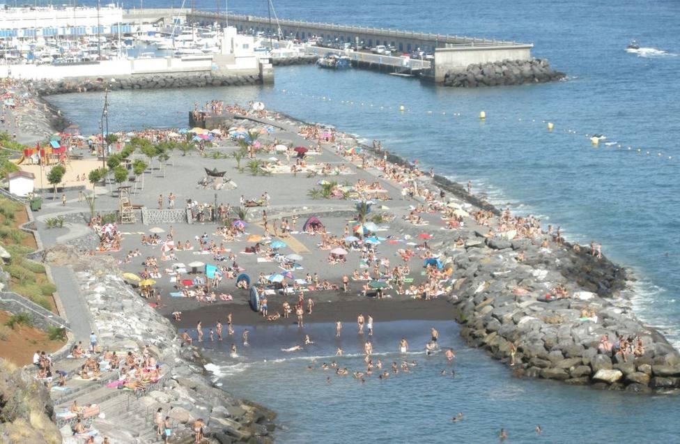 playa Radazul, El Rosario