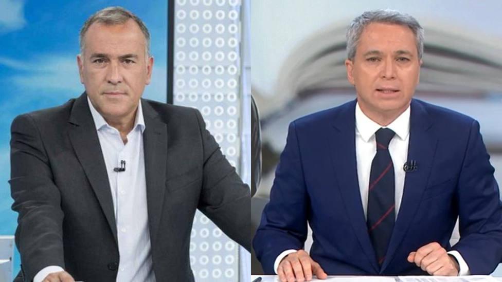 La comparativa entre Vicente Vallés y Xabier Fortes al tratar el Caso Dina que dejan en mal lugar a TVE