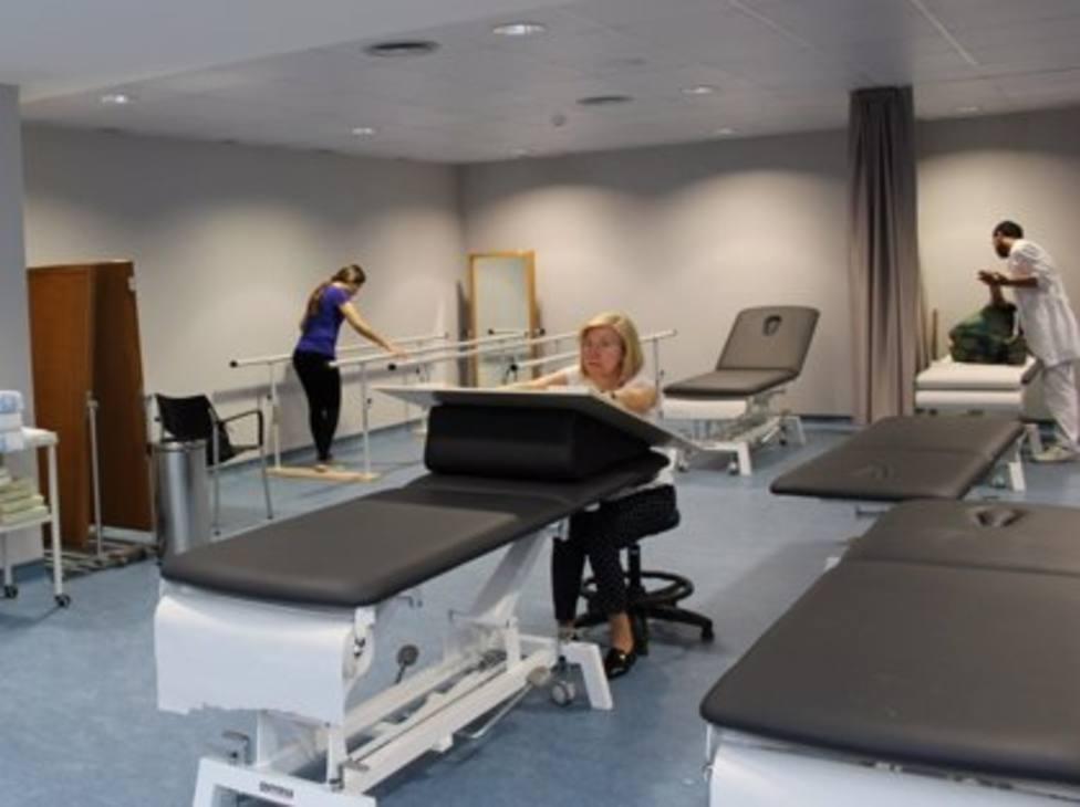 El Hospital Joan XXIII estrena un nuevo servicio de rehabilitación