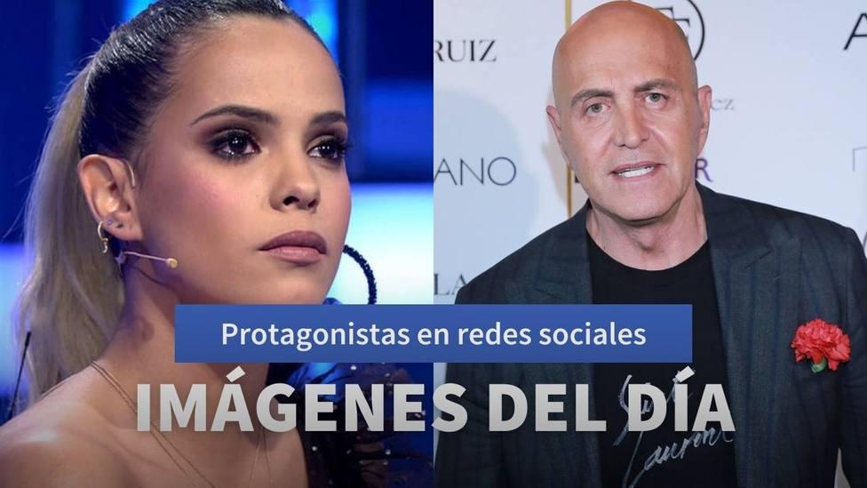 Imágenes del día: la reconciliación de Kiko Matamoros y la petición de Gloria Camila para este 2020