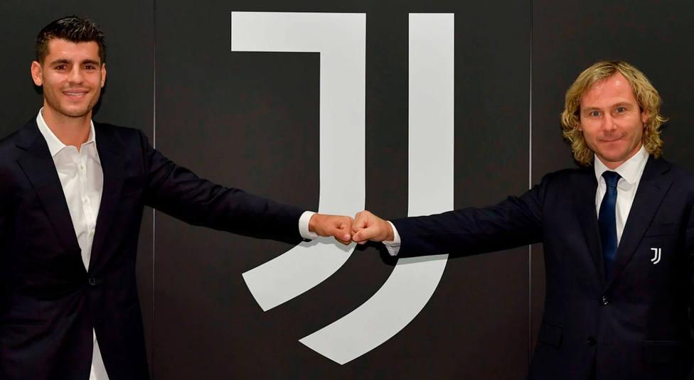 Morata, nuevo jugador de la Juventus