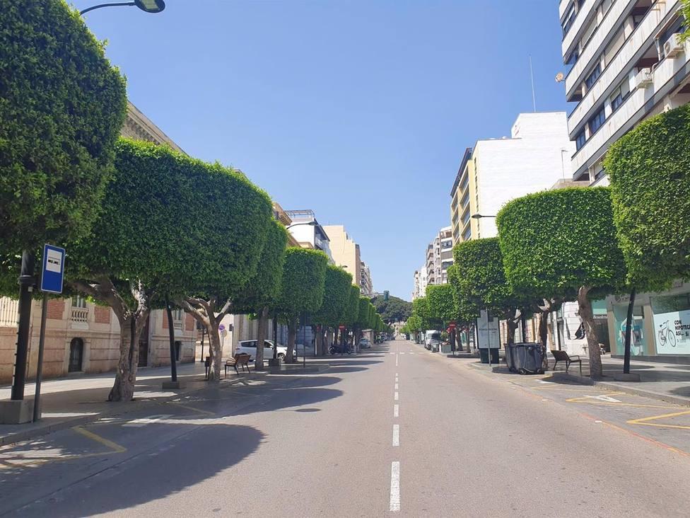 Almería.-El Ayuntamiento convoca el concurso para la nueva movilidad entre el Paseo, Obispo Orberá y Puerta de Purchena