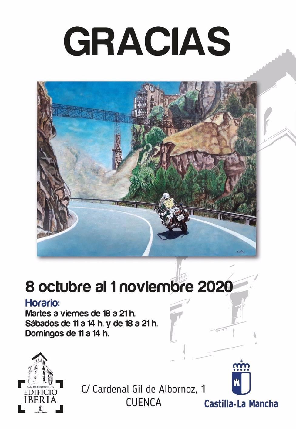 Cuenca acoge desde el jueves la exposición Gracias en homenaje a los colectivos que han trabajado durante la pandemia