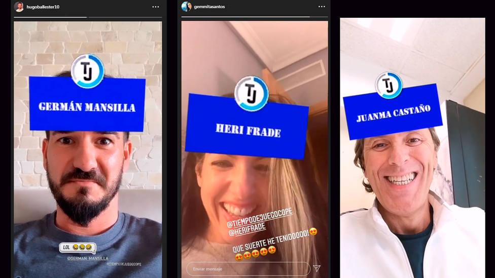Hugo Ballester, Gemma Santos o Paco González ya han probado el filtro Miembros TJ Cope de Instagram