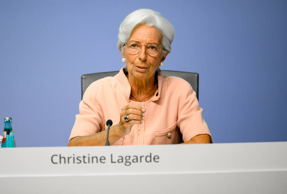 La presidenta del Banco Central Europeo (BCE), Christine Lagarde