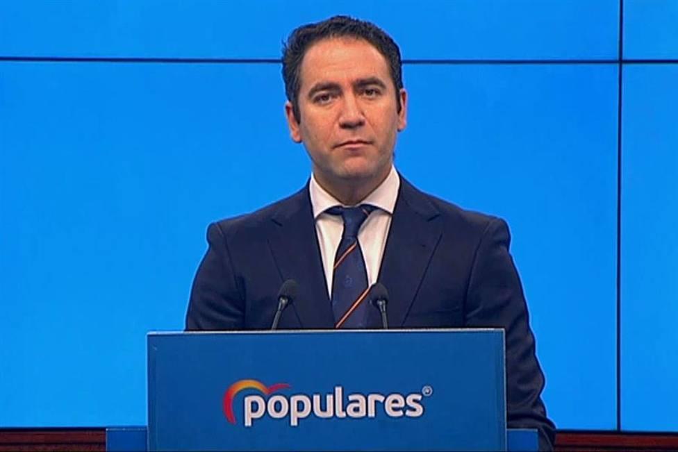 El secretario general del PP Teodoro García Egea