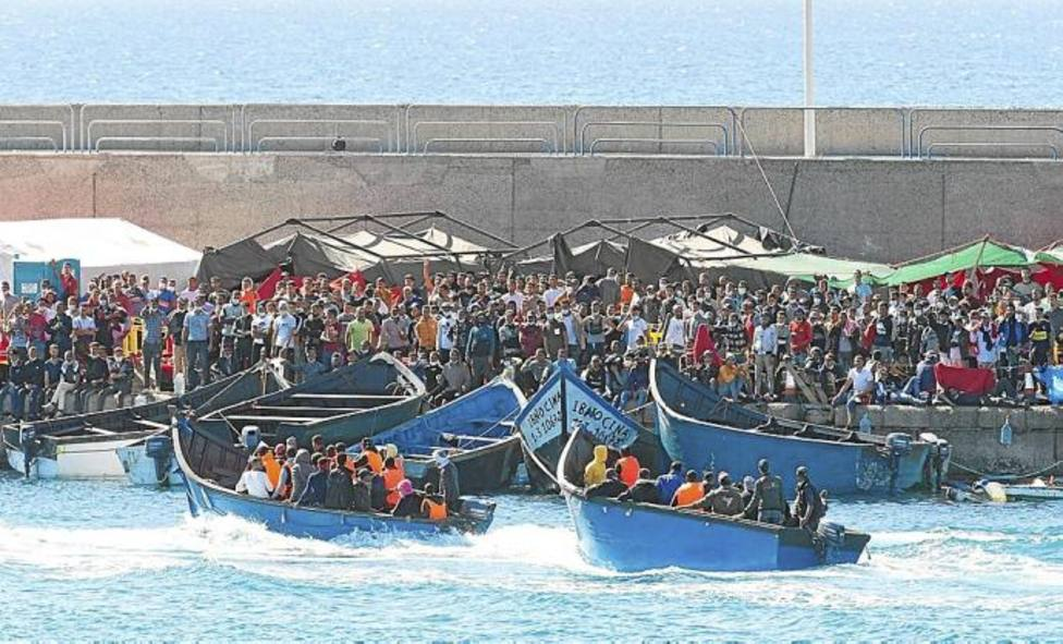 Más de la mitad de los 40.000 migantes que han llegado a España, lo ha hecho a través de la vía Canaria