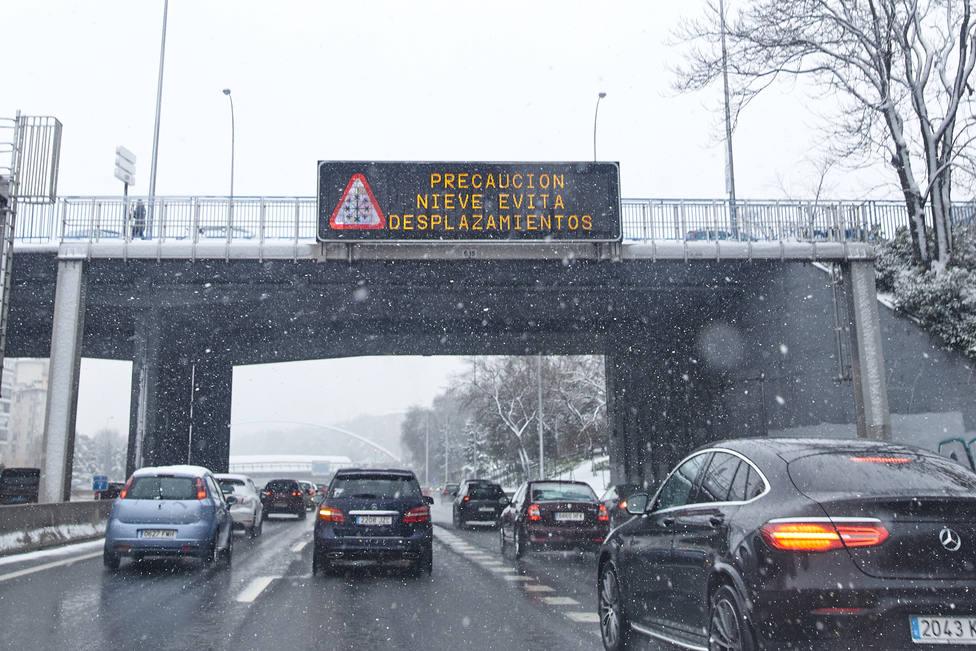 Consulta las principales incidencias en las carreteras de tu comunidad autónoma por la borrasca Filomena