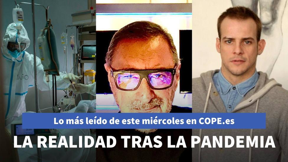 Carlos Herrera apunta a la cruda realidad oculta tras la pandemia, entre lo más leído de este miércoles