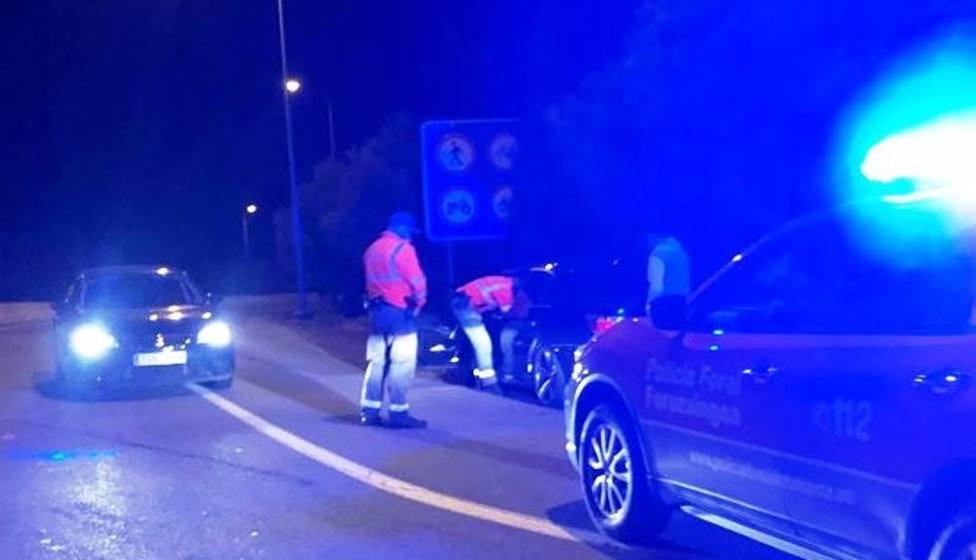 Denunciado tras adelantar a un vehículo policial a 180 km/h en la A68 en Tudela