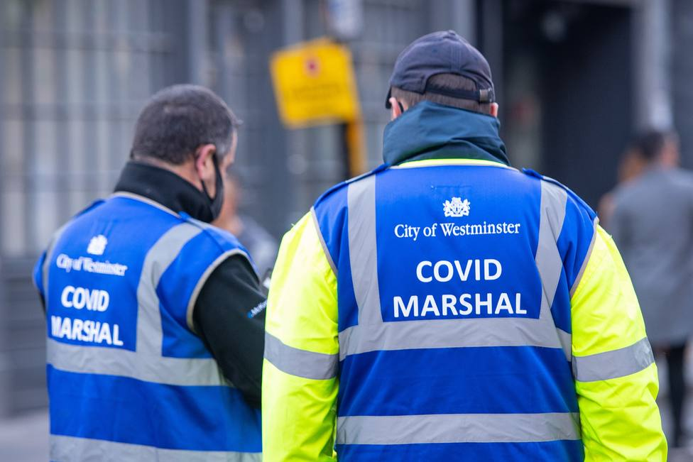 Reino Unido notifica 2.300 contagios y 15 fallecidos en las últimas 24 horas