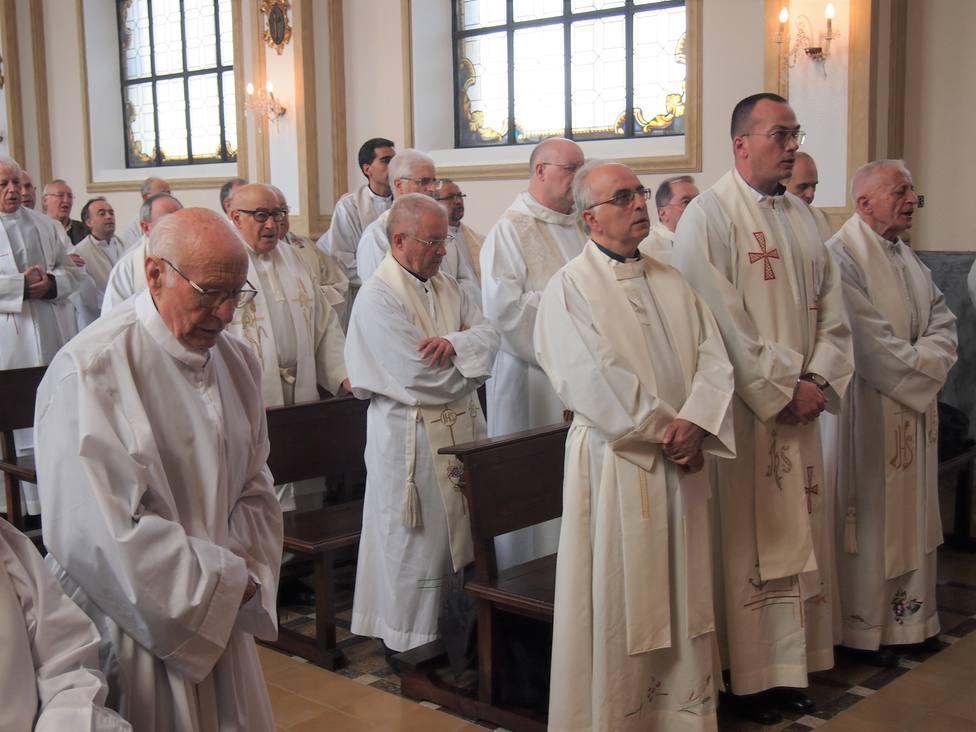 Foto de archivo de varios sacerdotes de la Diócesis de Mondoñedo-Ferrol - FOTO: Diócesis