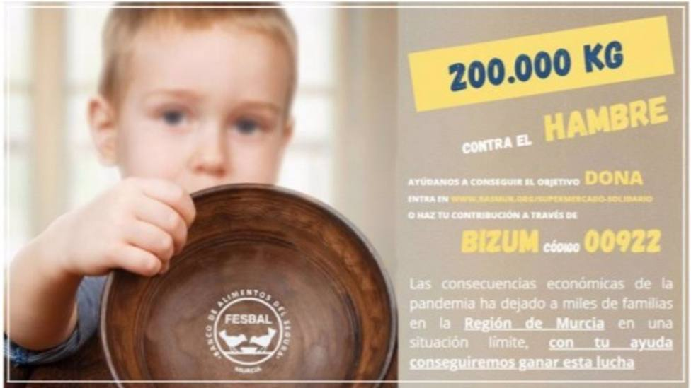 Numerosas personalidades del ámbito nacional y regional se unen a la campaña 200.000 kg contra el hambre