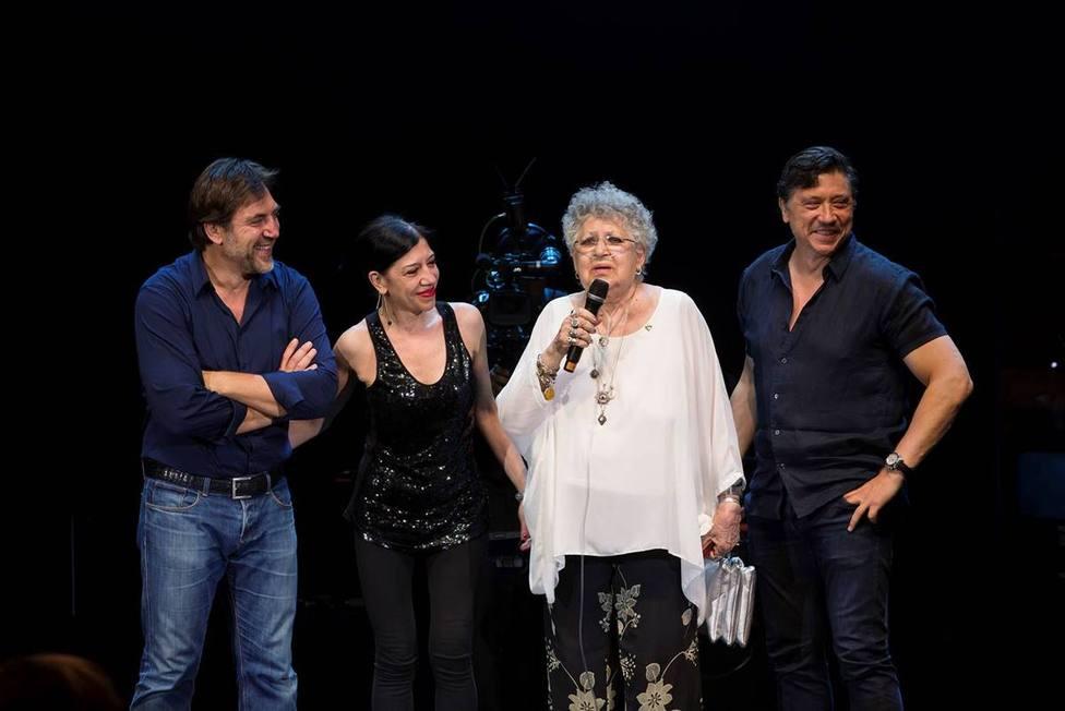 Carlos Bardem se despide de su madre, Pilar Bardem: Se ha ido rodeada del amor de los suyos
