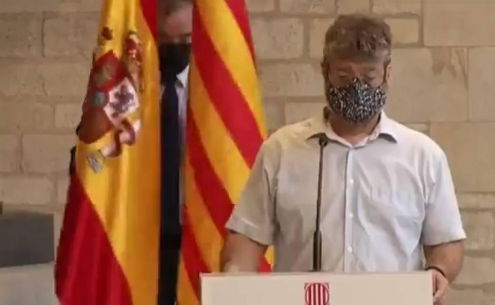 El vídeo de la que ha hecho la Generalitat con la bandera de España: Vale más que mil palabras