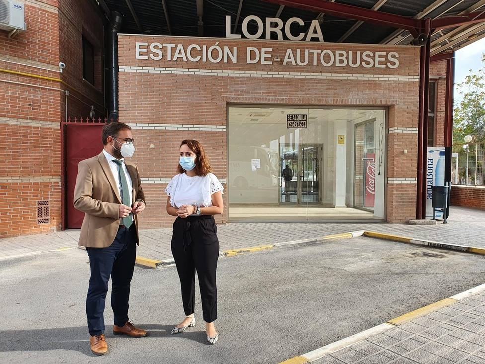 Lorca solicita creación de una conexión directa con el Aeropuerto Internacional de la Región de Murcia