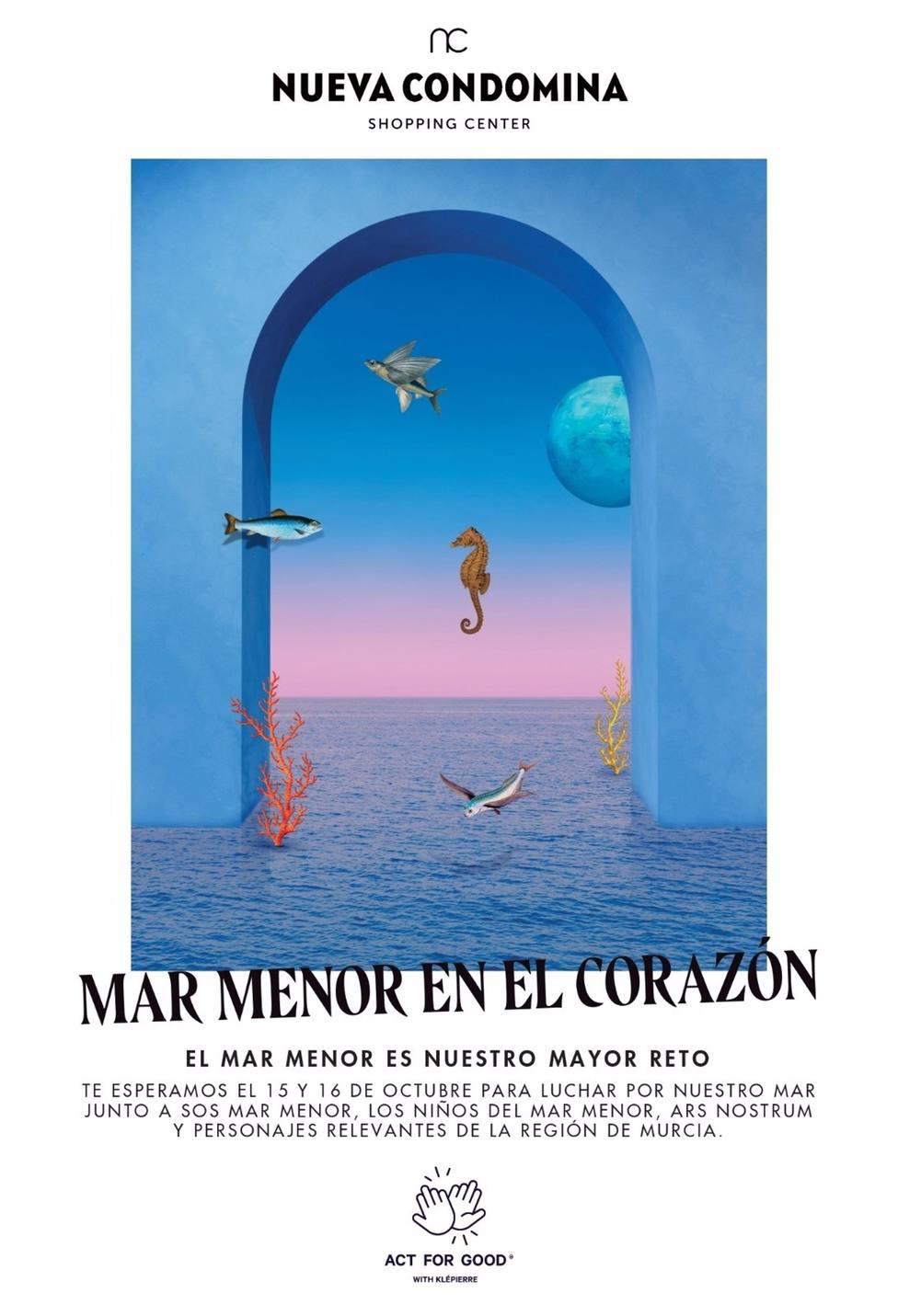 Imagen del cartel de Con el Mar Menor en el corazón