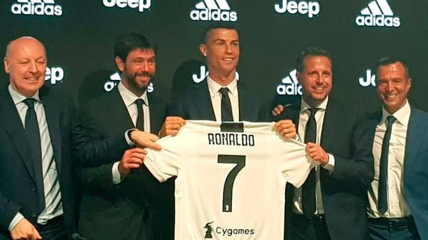 Cristiano Ronaldo, presentado como nuevo jugador de la Juventus (Juventus FC)