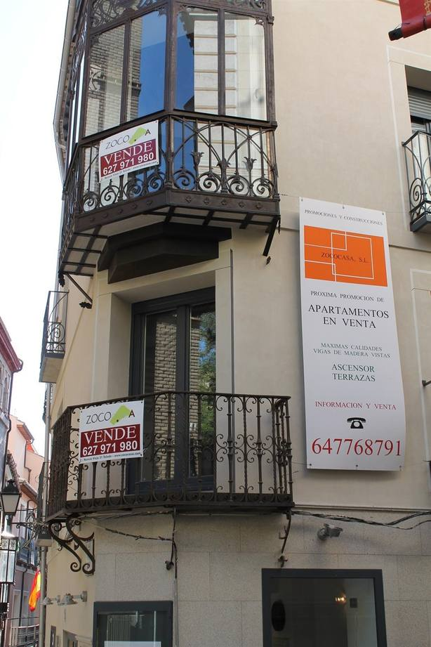 La compraventa de vivienda se incrementó un 0,2% en septiembre, según los notarios