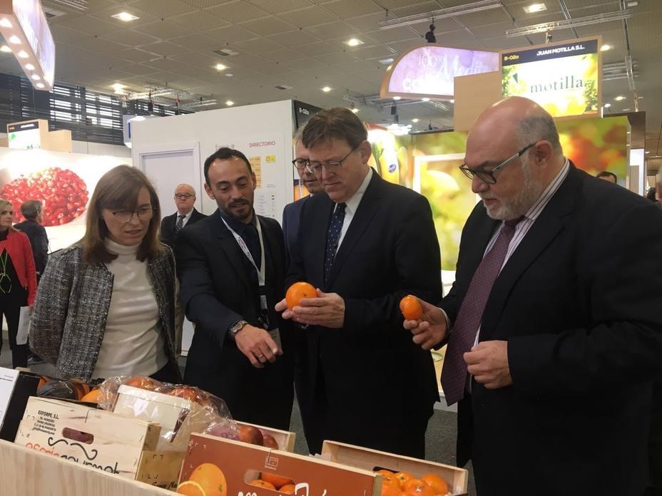 La Generalitat Valenciana pide a la UE la creación de un observatorio de frutas y hortalizas