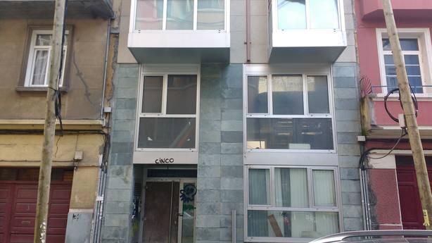 Edificio okupado en la calle Paz