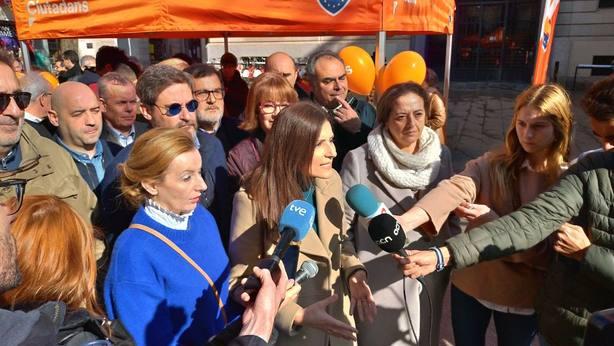 Roldán (Cs) irá a la manifestación para pedir a Sánchez que no ceda ante el chantaje