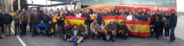 197 lorquinos viajan a la manifestación de Madrid