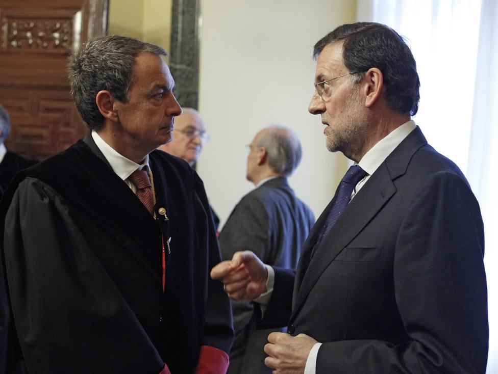 Rodríguez Zapatero y Rajoy participan en un debate de la ULE sobre consolidación de la Democracia