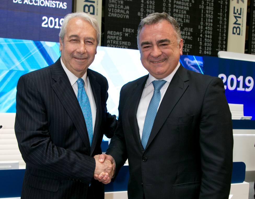 La junta de BME aprueba el pago de un dividendo complementario de 0,57 euros el 10 de mayo