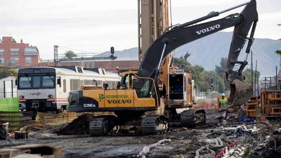 Murcia Alta Velocidad aprueba la ejecución de la segunda fase de las obras de soterramiento