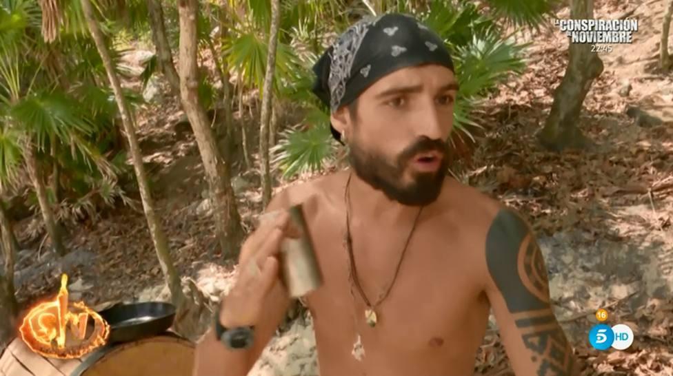 La tensa discusión entre Fabio y Albert en Supervivientes por una polémica decisión