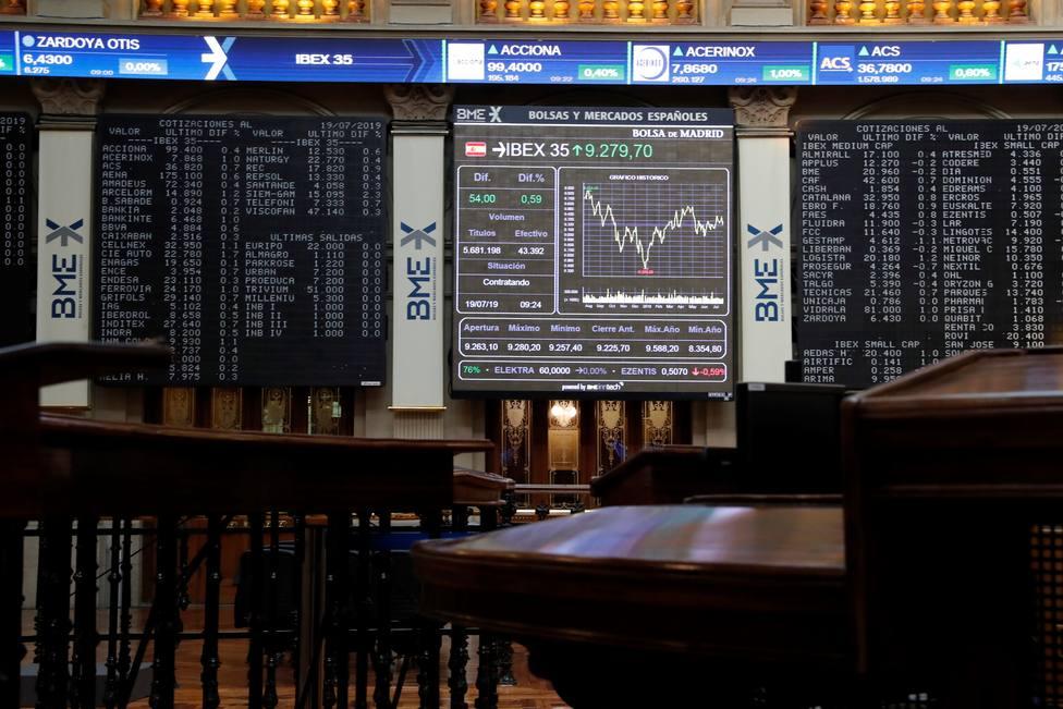 El BCE, la geopolítica y los resultados empresariales marcarán la semana en los mercados
