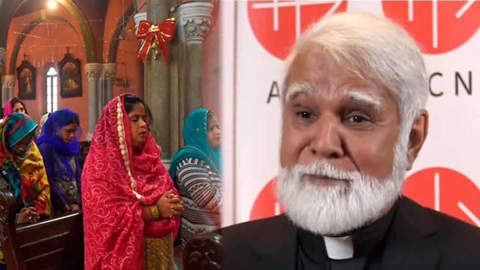 El Cardenal Joseph Coutts admira a los católicos por mantener su fe en Pakistán