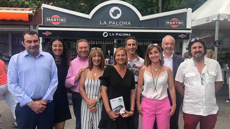 COPE Asturias en familia con el equipo de Ternera Asturiana