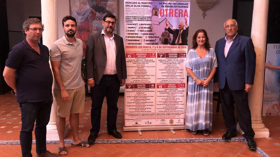 Acto de presentación del XX Encuentro Andaluz de Escuelas Taurinas