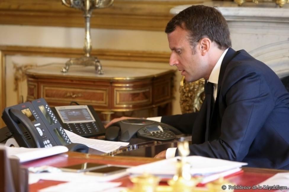 Macron y Putin se felicitan por el intercambio de prisioneros con Ucrania