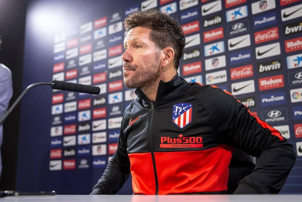 Rueda de prensa Diego Simeone