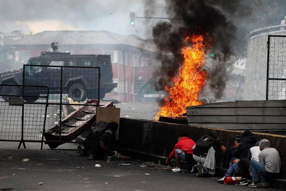 Lenín Moreno ordena el toque de queda en todo Ecuador ante los graves disturbios