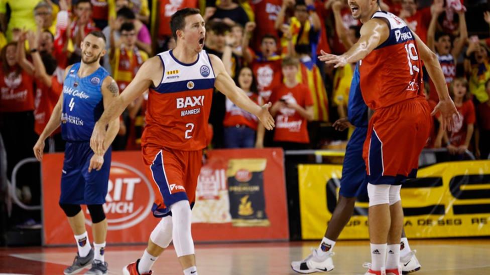 Baxi Manresa firmó su primer triunfo en la Champions League (Champions League Basketball)