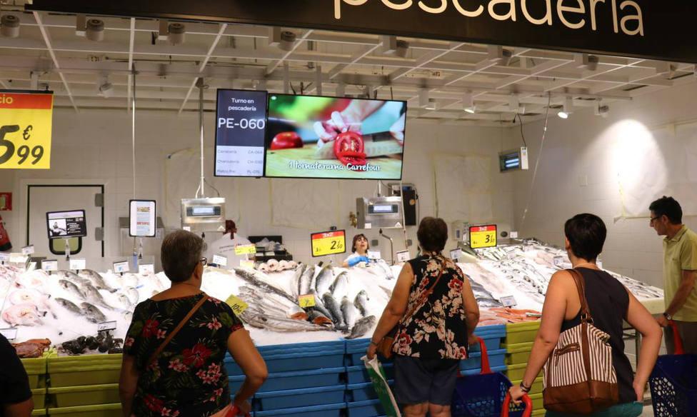 Profesiones con futuro: Pescadero en supermercado
