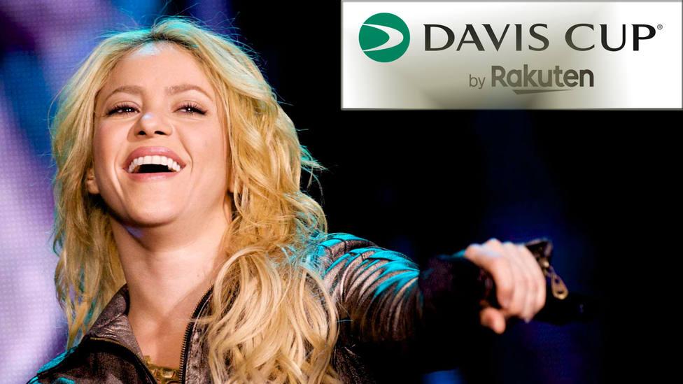 Shakira es la estrella de la ceremonia de clausura de la Copa Davis. CORDONPRESS