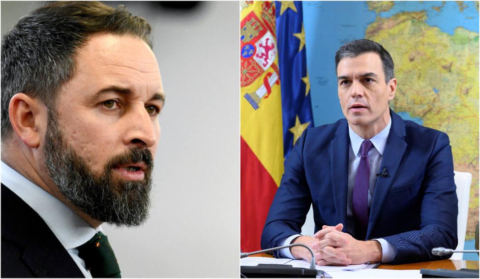 El calificativo con el que Abascal retrata a Sánchez por congelar las pensiones hasta que haya gobierno