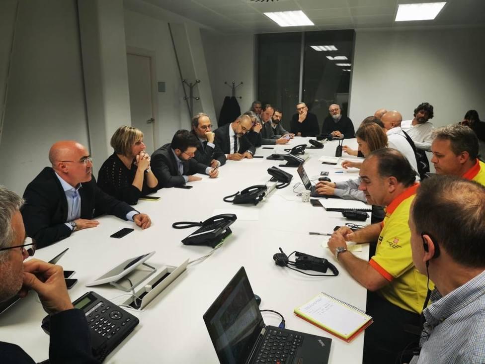 Torra pide calma por la explosión en la empresa química de Tarragona: No hay elementos tóxicos