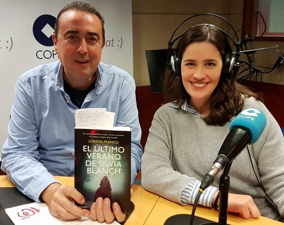 Lorena Franco nos presenta su última novela: El último verano de Silvia Blanch