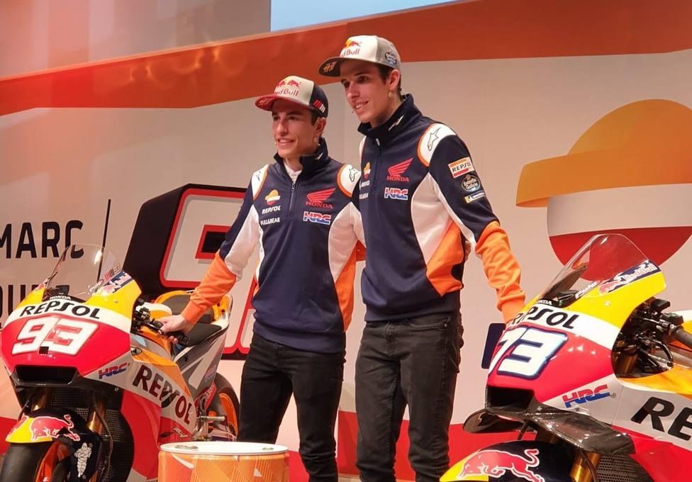 Marc y Alex Márquez