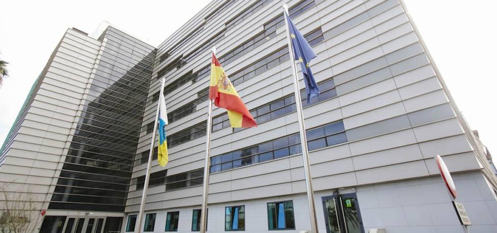 Sede de la Consjería de Sanidad en Las Palmas de Gran Canaria